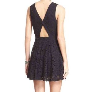 Free People Dresses - Free People Lovely in Lace Dress Black Size SM